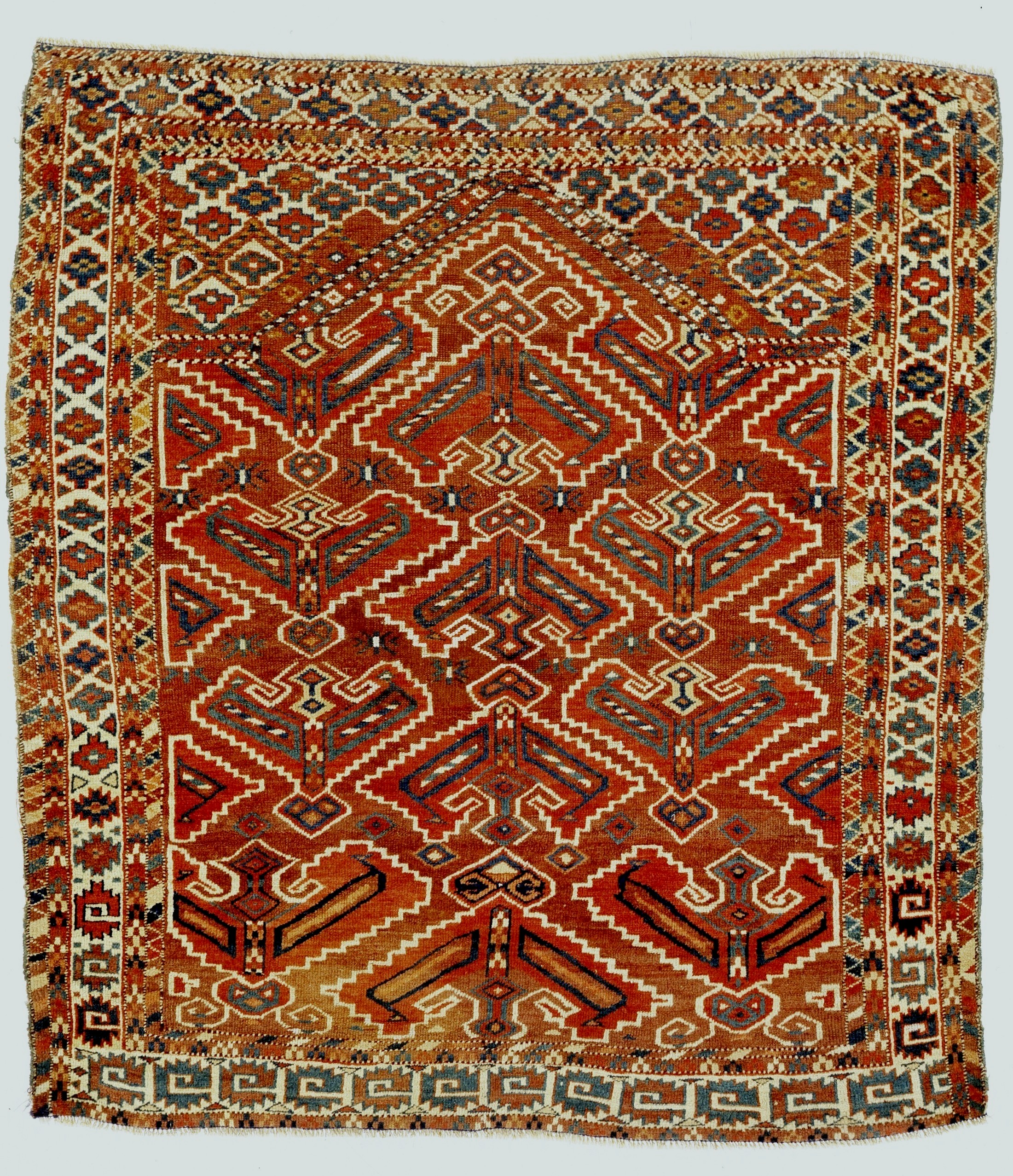 Prayer Rug Types: Central Asia 2